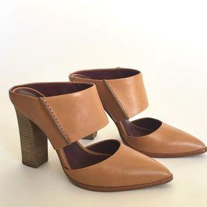 Coach NY fortune mule heel SIZE 6.5 B block heel